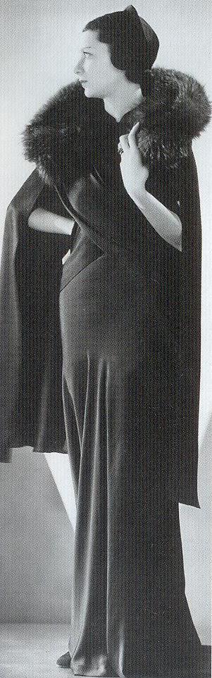 Mainbocher dress, 1930s