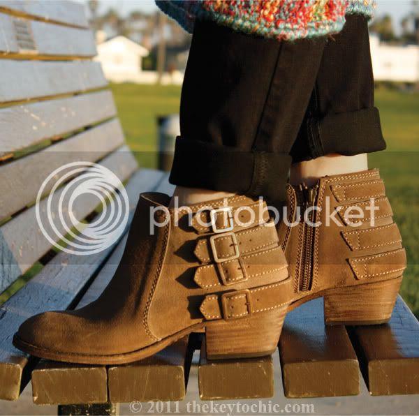 Steve Madden Hamptinn boots, buckle ankle boots