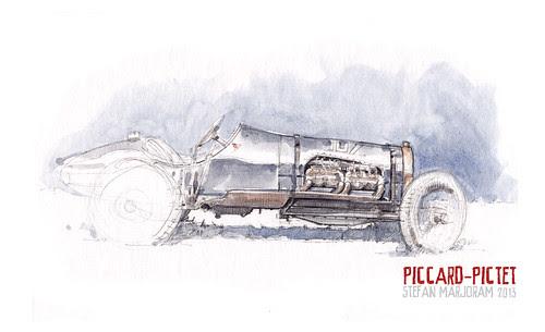 1913/18 Piccard-Pictet 'Pic Pic' by Stefan Marjoram
