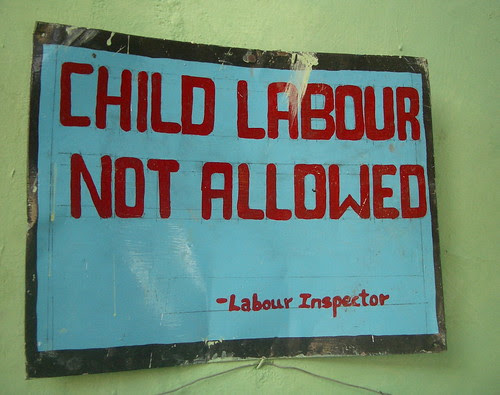 Child Labour Not Allowed