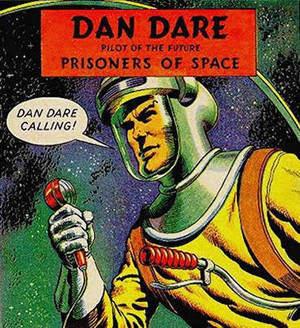 The original 1950s and 60s Dan Dare, Pilot of the Future
