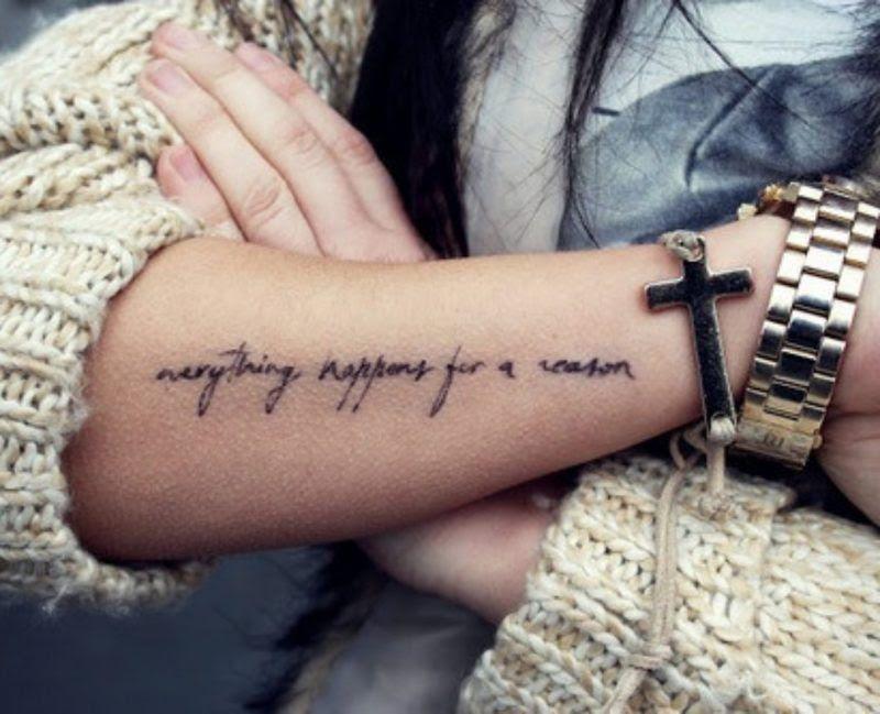 Arm männer sprüche tattoo Grosse Auswahl