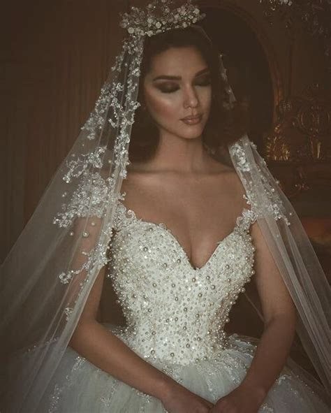 Swarovski crystal wedding dresses are amazing. This