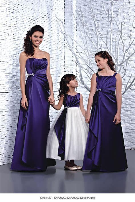 DAB11201/DAF21202/DAF21203 Deep Purple Wedding Dress from
