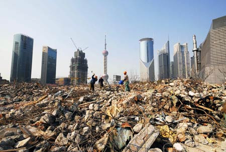 shanghai en construction