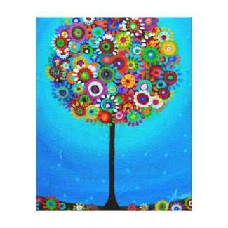 TREE OF LIFE BY PRISARTS CANVAS PRINT
