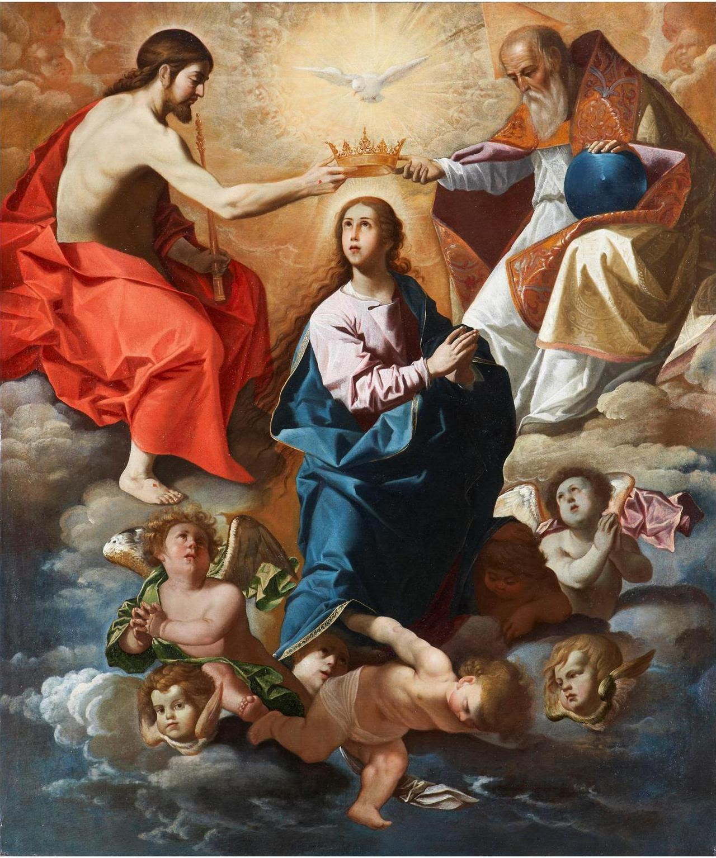 Juan Luis Zambrano Coronation of the Virgin (1630s)