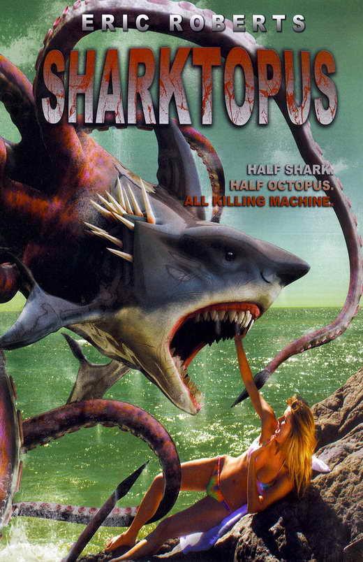 Risultati immagini per sharktopus movie poster