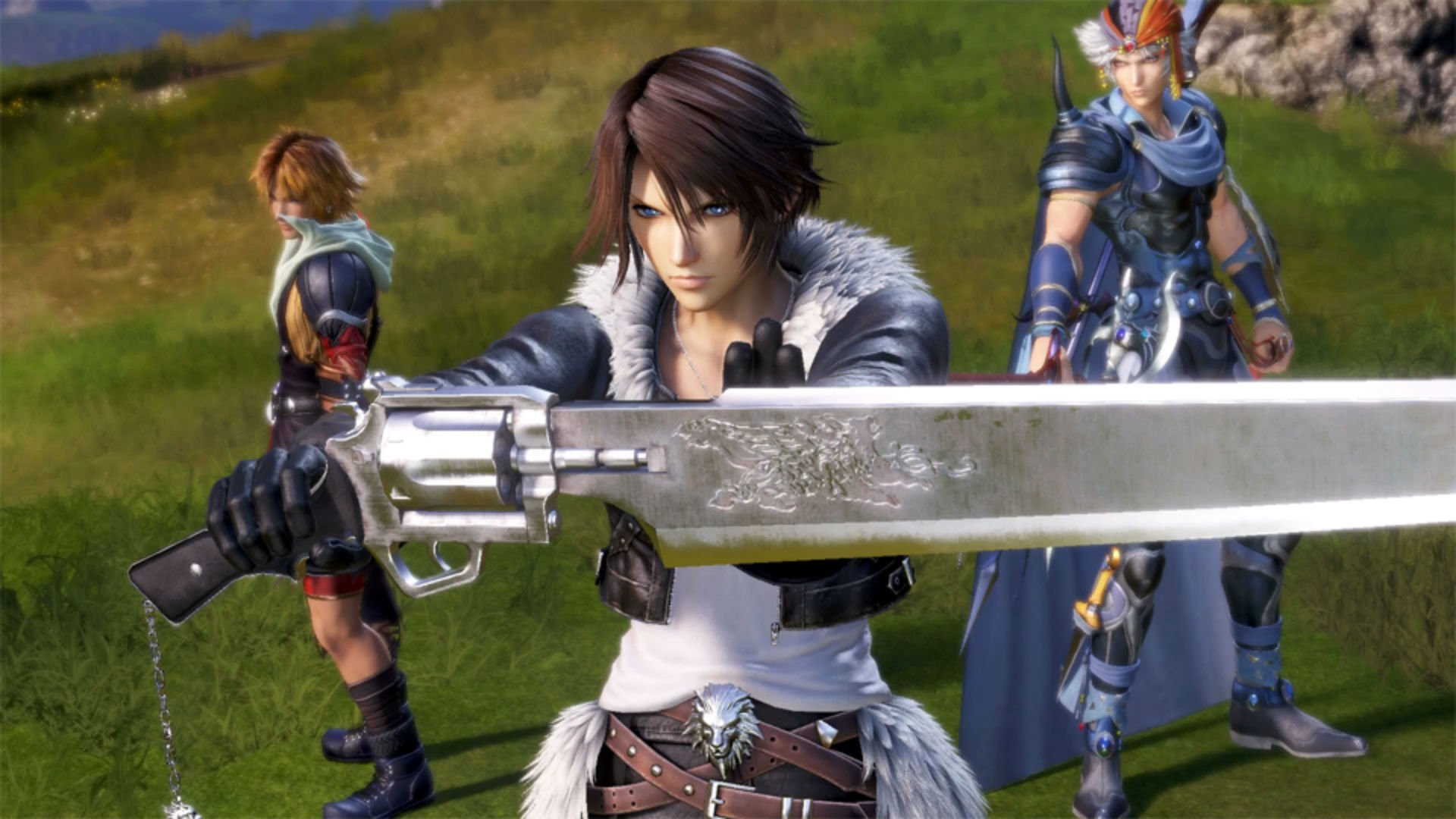 Dissidia Final Fantasy NT's gameplay looks pretty busy screenshot