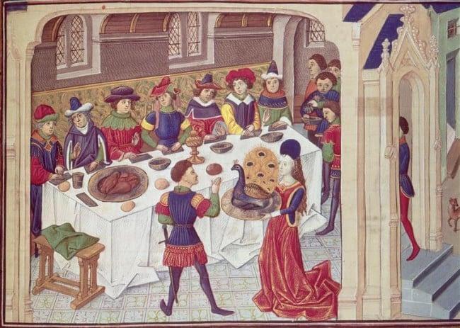 the taste of medieval food