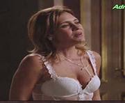 Adriana Esteves sexy lingerie Avenida Brasil