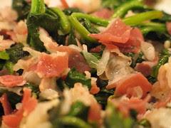 Spinach & Pancetta