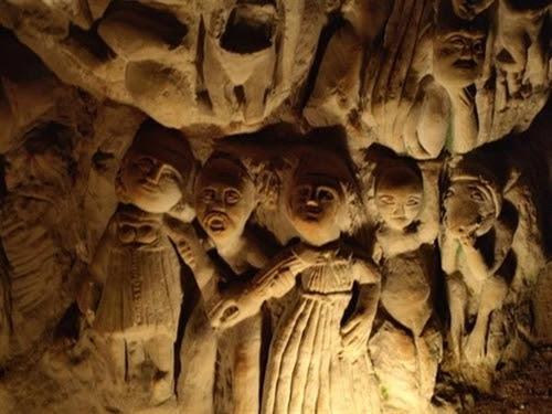 Resultado de imagen de foto esculturas misteriosas