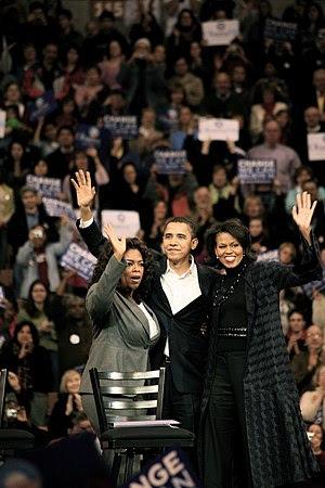 Oprah Winfrey, Barack Obama & Michelle Obama