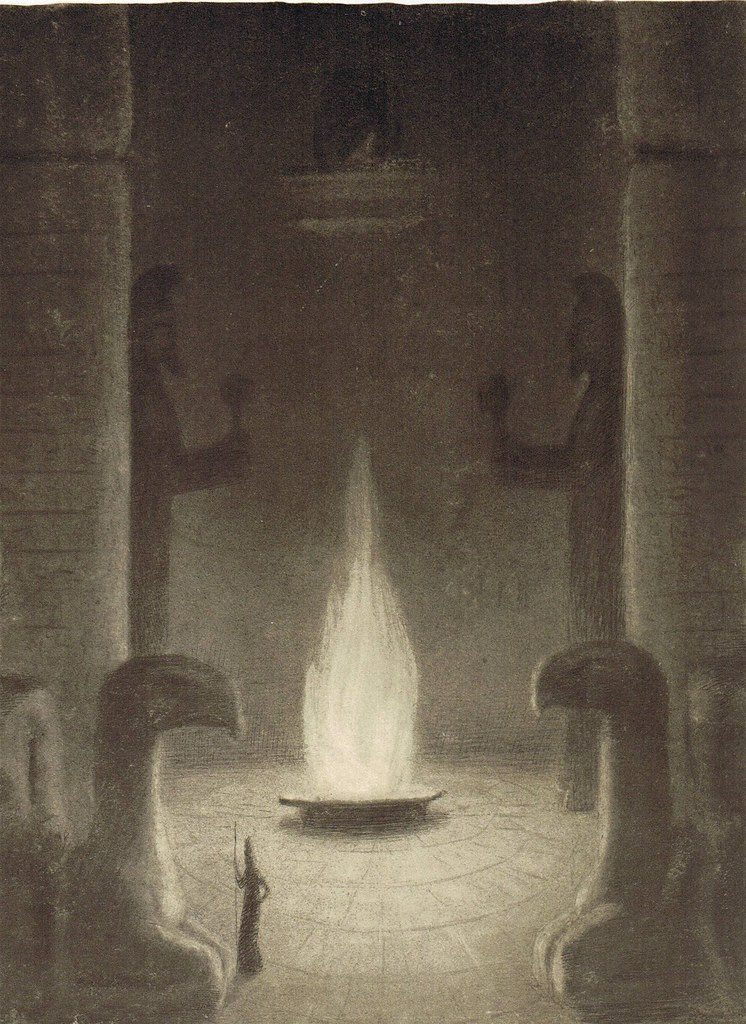 Alfred Kubin - The Eternal Flame