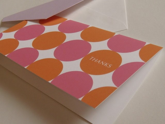 Big Spots - THANKS note cards
