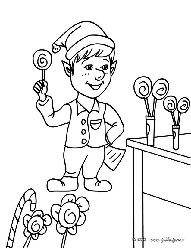 Dibujos Para Colorear Dulces De Navidad Eshellokidscom