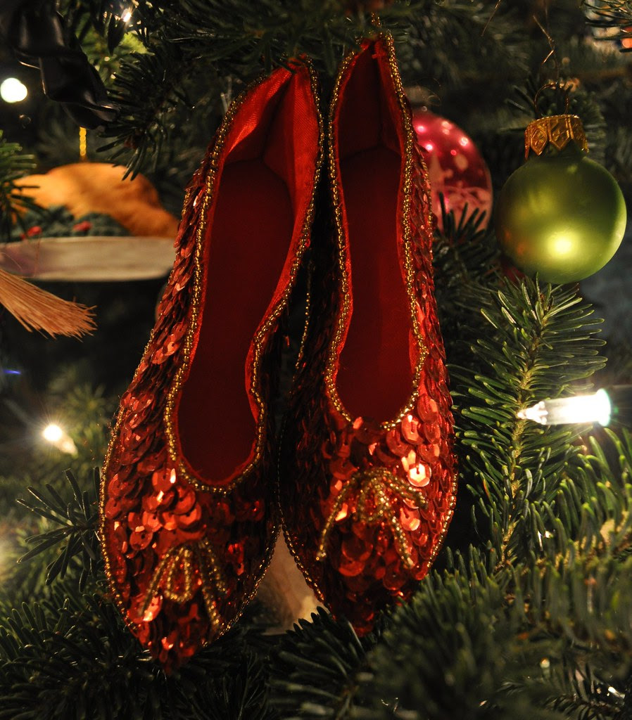 Ornament - Dorothy's Ruby Slippers