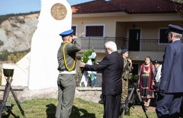 Άρτα: Πρ. Παυλόπουλος από Καταρράκτη - «Ποτέ ξανά ναζιστική θηριωδία»