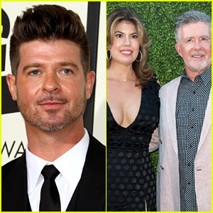 Robin Thicke Takes Legal Action Against Dad Alan's Widow