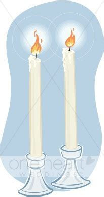 Clipart Two Candles   Wedding Candles Clipart