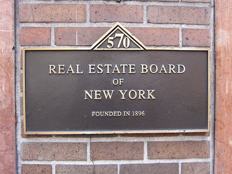 File:Real Estate Board of New York plaque 01.jpg