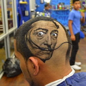 Dali Haircut