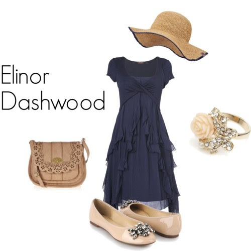 """Elinor Dashwood from Jane Austen's Sense and Sensibility. """"Sense will always have attractions for me."""" (Suggested by purpleterpsichore)"""