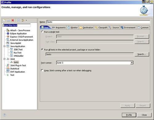 Eclipse TPTP profiling -1
