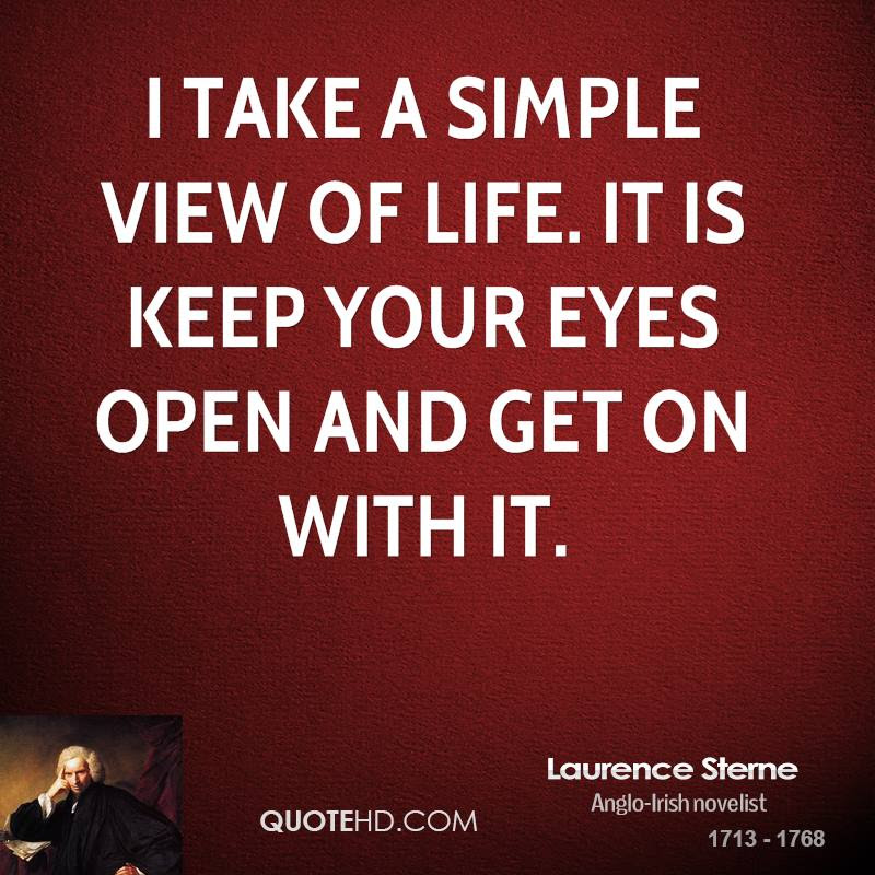 Laurence Sterne Life Quotes Quotehd