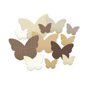 Butterfly Chipboard Shapes Classic Calico By Studio Calico
