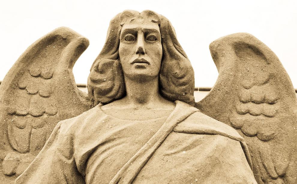 Angel of sand