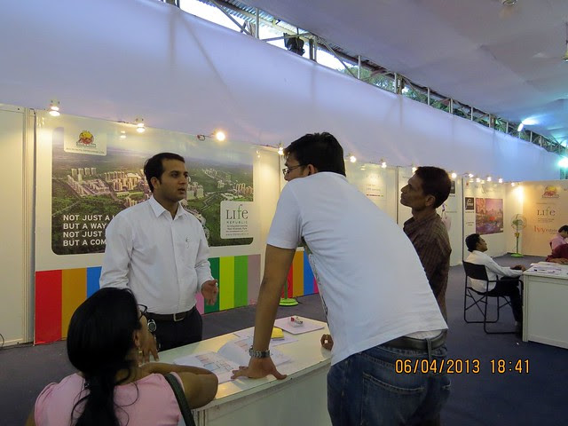 Kolte-Patil Developers' Life Republic Marunji - Maharashtra Times Pune Property Show April 2013