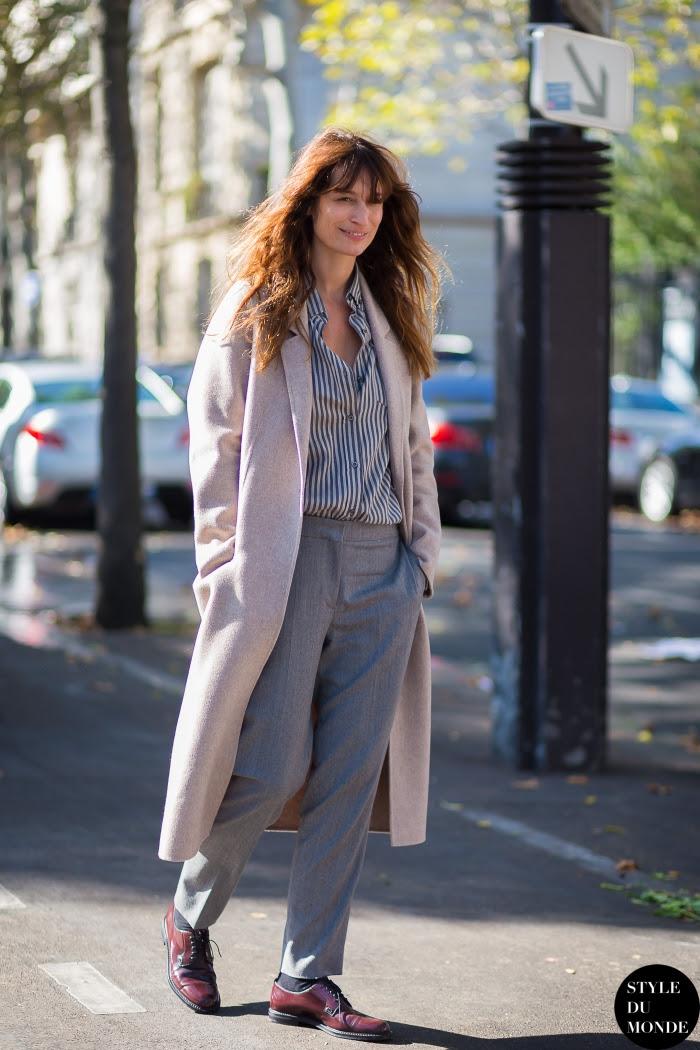 Caroline de Maigret Street Style Street Fashion Streetsnaps by STYLEDUMONDE Street Style Fashion Blog