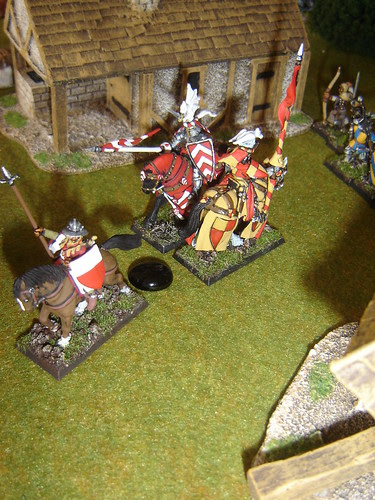 Infantry stands fast and repels knights
