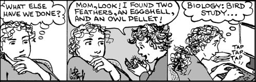 Home Spun comic strip #721