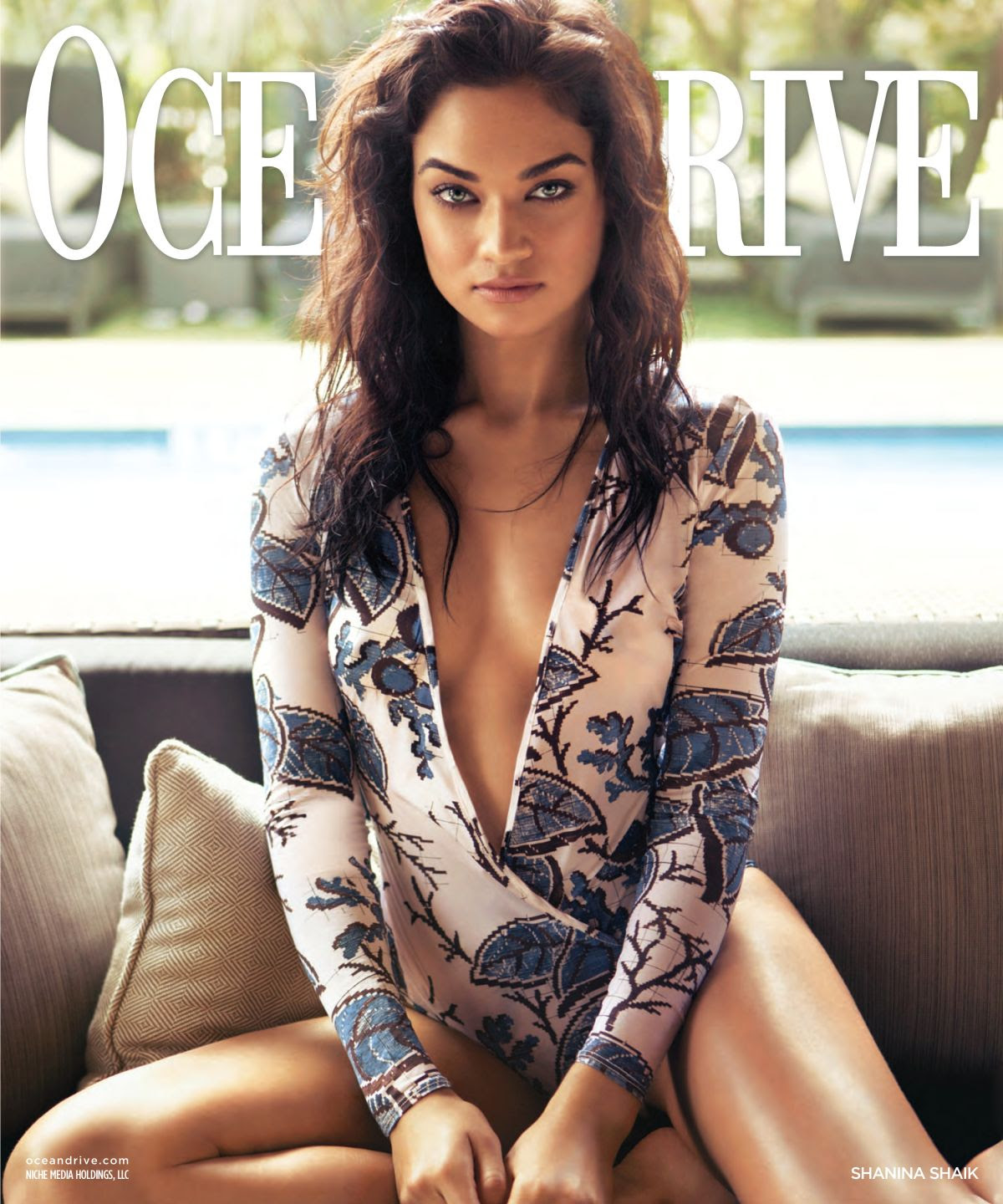 SHANINA SHAIK in Ocean Drive Magazine, February 2016 Issue