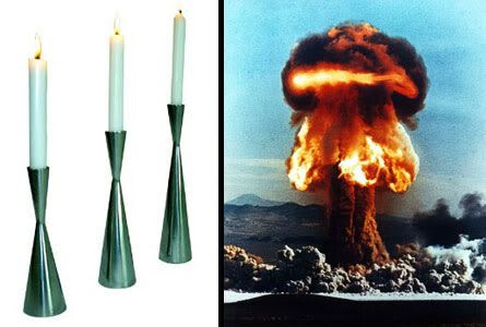 Candles: Future weapons of mass destruction?