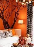 Orange Bedroom | Home Design Pictures