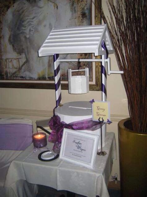 Wishing well! Wedding!   Wishing well!   Wedding reception
