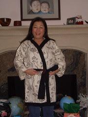Mom's bathrobe