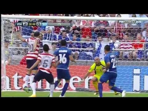 USA vs El Salvador 5-1 Highlights Gold Cup 2013 Goodson Corona Johnson Donovan Diskerud Goals Video