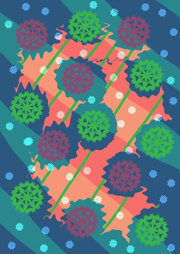 Snowflake Pattern Play