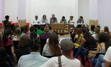 Escritores africanos y afrodescendientes en la Ferial del Libro Africano en Madrid, Centro Panafricano y de Estudios Panafricanos 2016.