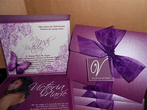 "18th Birthday Invitation ""Debut""   ***Invitations"