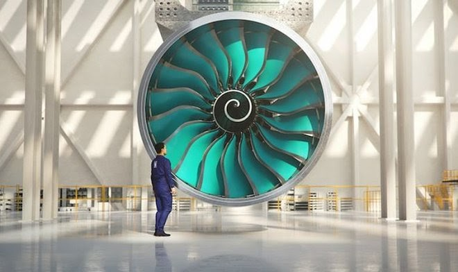 Rolls-Royce приступил к созданию самого большого авиадвигателя в мире