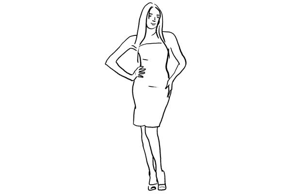 Позирование: позы для женского портрета 1-17