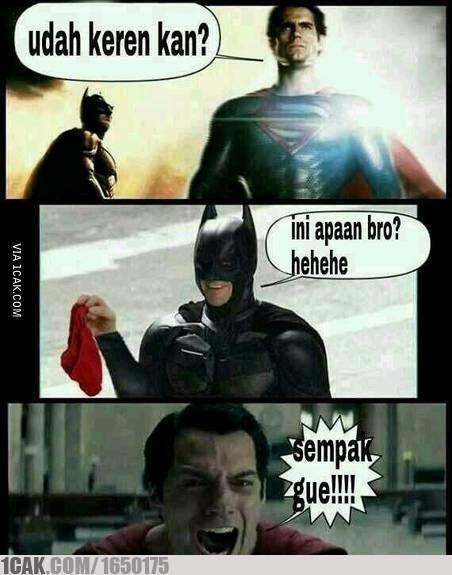 Kompilasi Meme Kocak Tentang Superman yang Super Mengocok Perut
