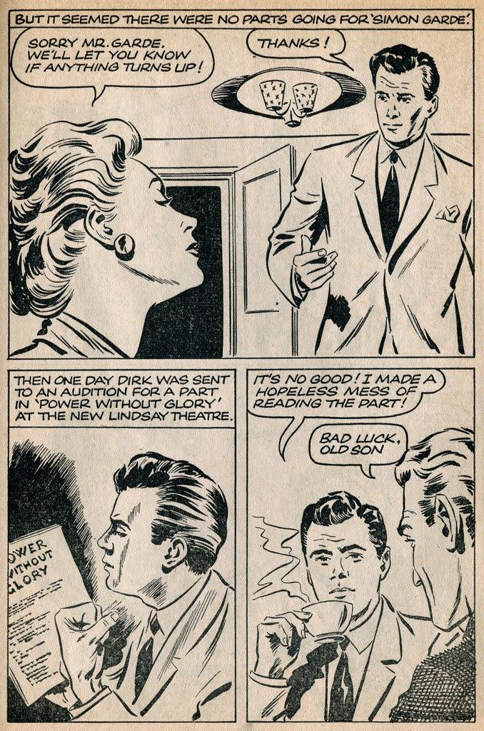 Dirk Bogarde comic 10