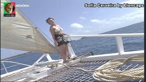 Sofia Cerveira sensual no programa Destinos de Sofia